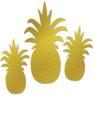 Ananaskoristeet 3 kpl
