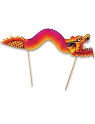 Lohikäärmekoriste piikeillä 24 x 66 cm