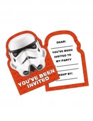 Star Wars™: Stormtrooper-kutsukortit 8 kpl