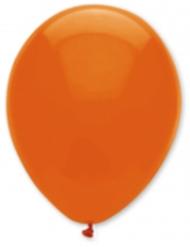Tummanoranssit ilmapallot 30 cm 6 kpl