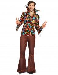 Herkko Hippi -hipin naamiaisasu aikuiselle