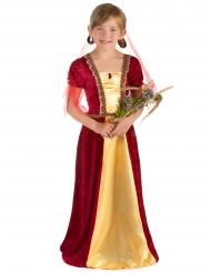 Keskiaikainen prinsessa - lapsen naamiaisasu