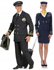 Lentäjä & Lentoemo -pariasu aikuisille