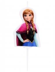 Frozen™ Anna -kakkukynttilä 4,5 cm