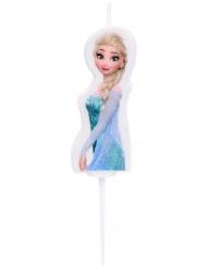 Frozen™ Elsa -kakkukynttilä 4,5 cm