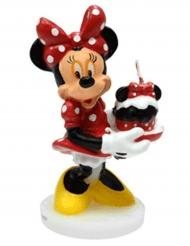 Disney™ Minni Hiiri -kakkukynttilä 4,5 x 9 cm