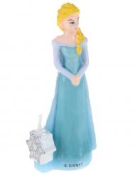 Frozen™ Elsa -kakkukynttilä 9,5 cm