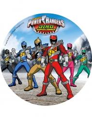 Power Rangers™ - Sininen kakkukuva 21 cm
