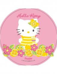 Pinkki Hello Kitty™ -kakkukuva 21 cm