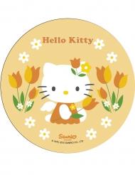 Keltainen Hello Kitty™ -kakkukuva 21 cm