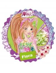 Winx Klubi™ Flora -kakkukuva 21 cm