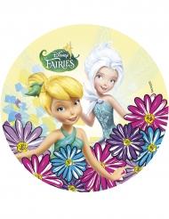 Disney™ Clochette & Cristal -kakkukuva 21 cm