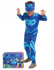 Pyjamasankarit™ Kolli -naamiaisasu lapsille lahjapakkauksessa
