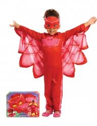 Pyjamasankarit™ Pöllö-naamiaisasu lahjapakkauksessa lapsille
