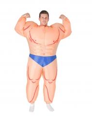 Mr Muscle -naamiaisasu aikuiselle