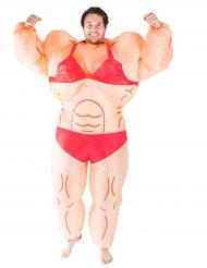 Miss Muscle -naamiaisasu aikuiselle