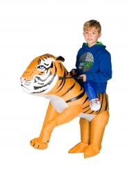 Tiikerinkesyttäjä -naamiaisasu lapselle