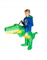 Krokohyökkäys! -puhallettava naamiaisasu lapselle