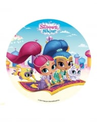 Shimmer and Shine™ -kakkukuva 16 cm