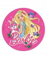 Barbie™ ja perhoset -kakkukuva 20 cm