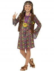 Hillevi Hippi -hipin naamiaisasu lapselle