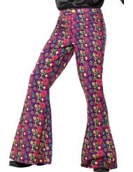 Hipin housut kukkakuviolla (miehet)