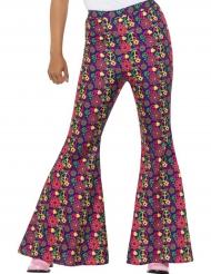 Hipin housut kukkakuviolla