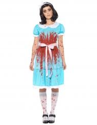 Ihmemeen prinsessan verinen naamiaisasu halloweeniksi naiselle