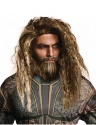 Aquaman™ peruukki ja tekoparta aikuiselle