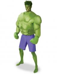 Puhallettava Hulk™-naamiaisasu aikuisille