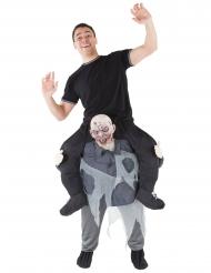 Morphsuits™- zombin selässä- naamiaisasu miehelle