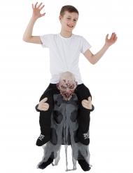 Morphsuits™- zombin selässä- naamiaisasu lapselle