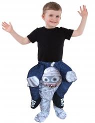 Morphsuits™- muumion selässä- naamiaisasu lapselle