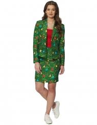 Suitmeister™ Mrs. Vihreä kuusi-puku naiselle