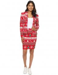 Mrs. Punainen joulukuusi Suitmeister™- puku naiselle