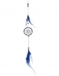 Sininen unisieppari höyhenillä 5 x 35 cm