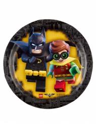 8 Lego Batman™ pientä pahvilautasta 18 cm