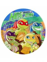 Ninja Turtles™-paperilautaset 8 kpl