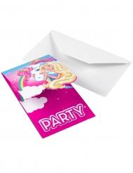 Barbie Dreamtopia™-kutsukortit 8 kpl