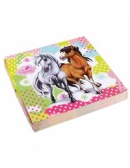 Charming Horses-paperiset servetit 33 x 33 cm 20 kpl