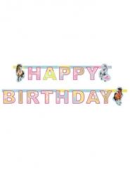Charming Horses Happy Birthday-paperinen banneri 177 x 15 cm