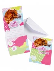 Charming horses-kutsukortit 6 kpl