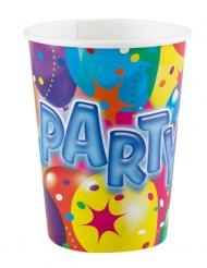 8 Party muovimukia 250 ml