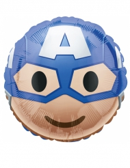 Emoji™ Kapteeni Amerikka -alumiinipallo 43 cm