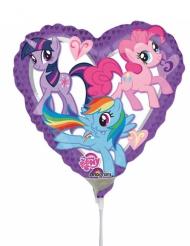 My Little Pony™ -sydämenmuotoinen alumiinipallo 23 cm