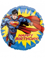 Superman™ Happy Birthday-alumiinipallo 43 cm