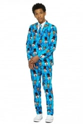 Mr- Winter winner Opposuits™-puku nuorelle