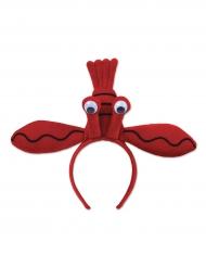 Punainen hummeri- hiuspanta