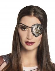 Steampunk- silmälappu naiselle