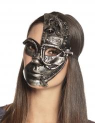 Steampunk-robotin naamari aikuiselle
